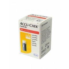Accu-chek Fastclix 24 lancette