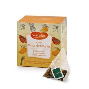 neavita tisana filtroscrigno mango lemongrass 15 filtri