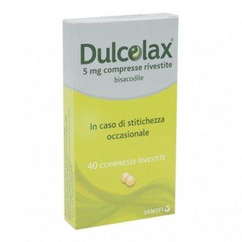 dulcolax 40 compresse rivestite 5mg