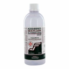 acido borico 3% new fadem flacone 500 ml