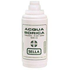 acido borico sella*3% 500ml