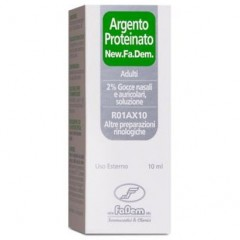 argento proteinato 2% gocce fadem