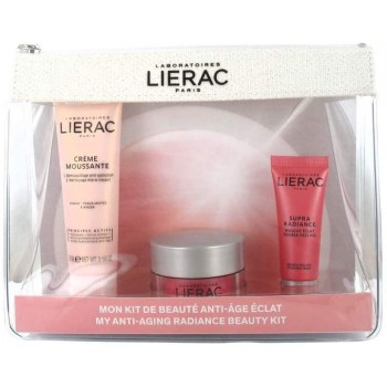 lierac travel kit  supra radiance