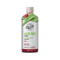 aloe 100 % puro aroma mela 1000 ml