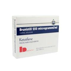 brunistill collirio 20 fiaconcini monodose 0,5 ml 0,025%