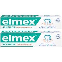 Elmex Sensitive Dentrificio Bipacco 2 x 75 ML