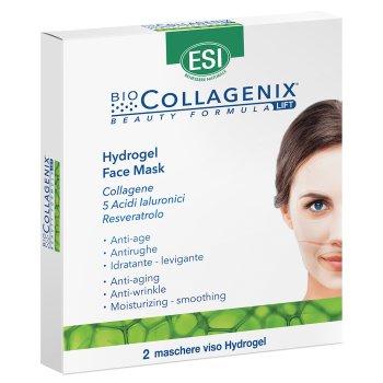 biocollagenix hydrogel face mask maschera viso 2 pezzi