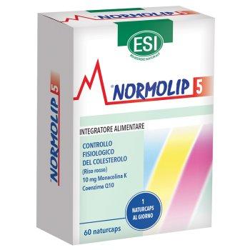normolip 5 controllo del colesterolo 60 capsule