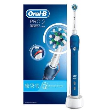 oralb 2000 pro2 crossaction spazzolino elettrico
