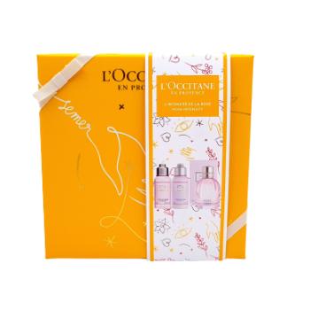 l'occitane cofanetto fragranza rosa 3 pezzi