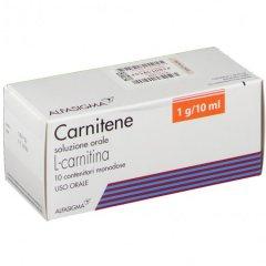 Carnitene 10 Flaconi Orali Monodose 1g