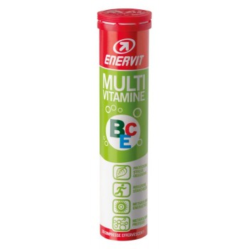 enervit sport multi-vitamine 20 compresse effervescenti agrumi