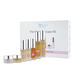 the organic pharmacy hero skin care kit
