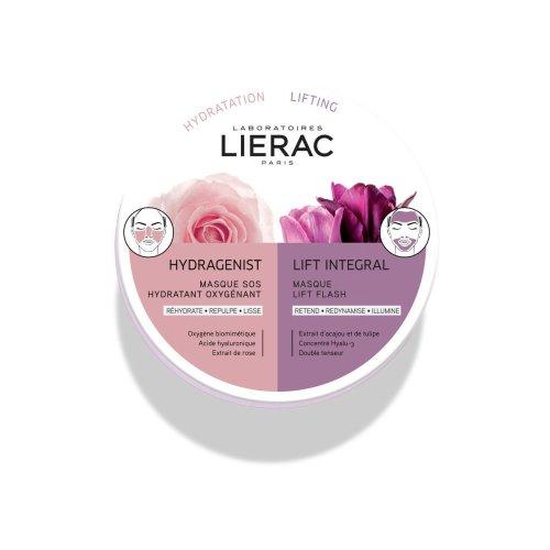 LIERAC MASCHERA VISO DUO Hydragenist + Lift Integral 2 x 6 ml