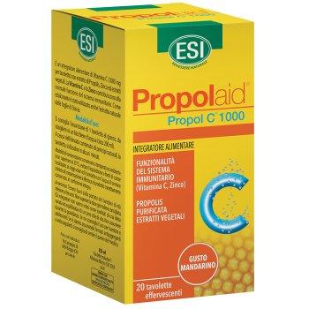 propolaid propol c 1000mg 20 compresse effervescenti
