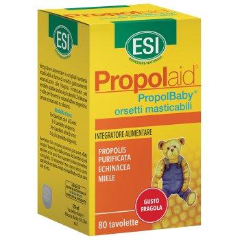 propolaid propol baby 80 orsetti masticabili