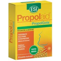 Propolaid Propol Gola 30 Tavolette Masticabili Gusto Menta