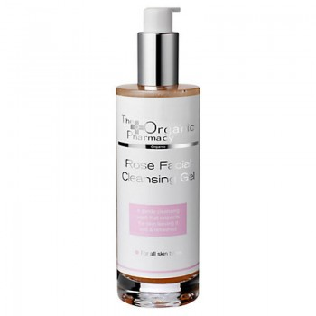 the organic pharmacy rose facial cleansing gel 100 ml