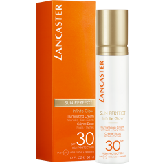 lancaster sun perfect illuminating serum solare illuminante viso spf30 50ml