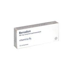 benadon 10 compresse gastroresistenti 300 mg