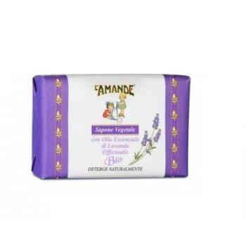 l'amande sapone vegetale marsiglia alla lavanda 200gr