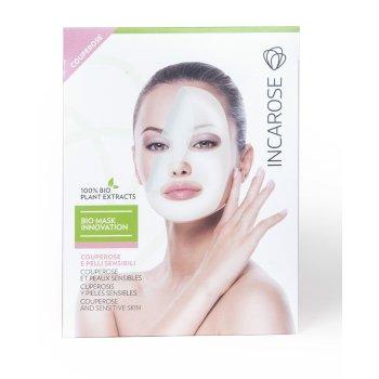 incarose bio mask maschera couperose e pelli sensibili