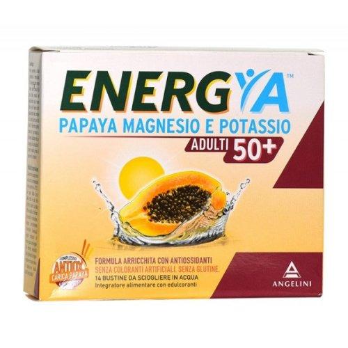 ENERGYA PAPAYA MAGNESIO E POTASSIO ADULTI 50+ 14 Bustine