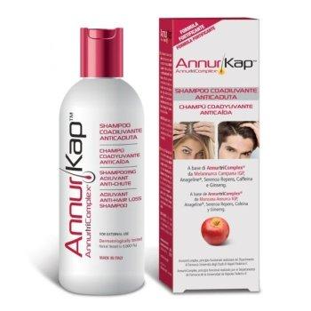 annurkap shampoo anti-caduta fortificante 200 ml