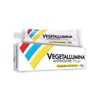 vegetallumina antidolore gel 10% 120g