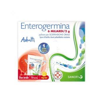 enterogermina os 10 bustine 6 miliardi / 2g