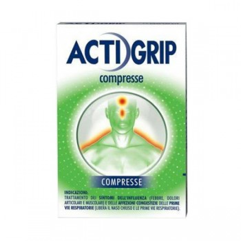 actigrip 2,5+60+500mg 12 compresse
