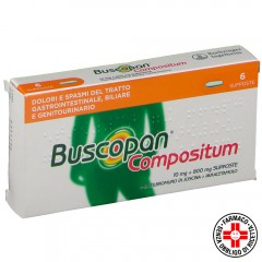 buscopan compositum 6 supposte