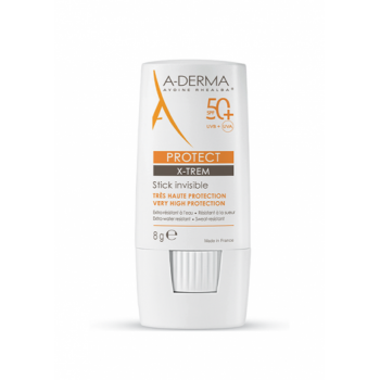 aderma a-d protect x-trem invisible stick solare spf 50+ 8g