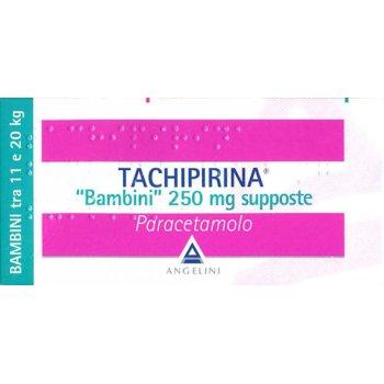 tachipirina bambini 10 supposte 250 mg