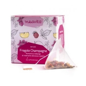 neavita tisana filtroscrigno fragole e champagne