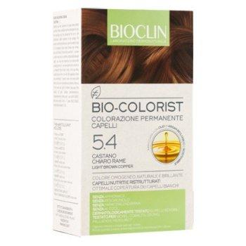 bioclin bio colorist tintura capelli colore 5.4 castano chiaro rame