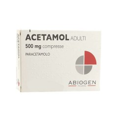 acetamol adulti 20 compresse 500 mg