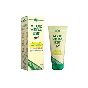 aloe vera esi gel vitamina e & tea tree oil 100ml
