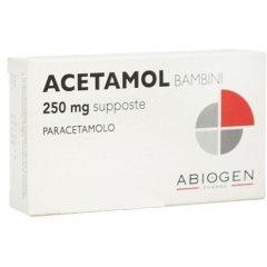 acetamol 10 prime supposte 250 mg