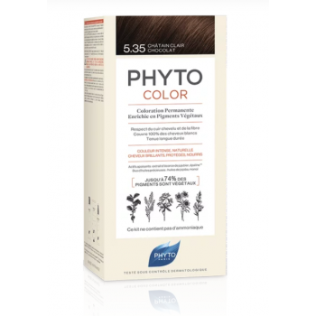 phytocolor colorazione permanente 5.35 castano ...
