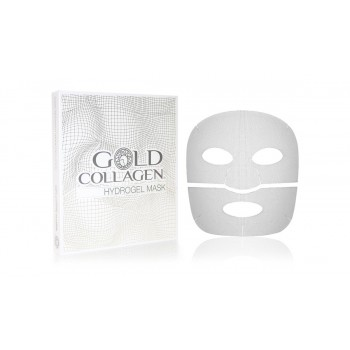 gold collagen hydrogel mask 1 pezzo