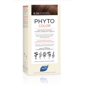 phytocolor colorazione permanente 6.34 biondo s...