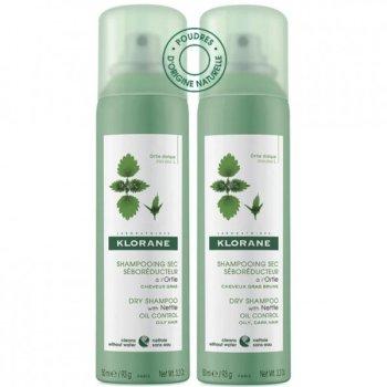 klorane shampoo secco ortica confezione doppia ...