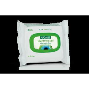 afomill salviette struccanti olio micellare 20 pz