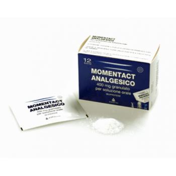 momentact analgesico granulato 12 bustine 400 mg