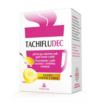 tachifludec 10 bustine gusto limone e miele