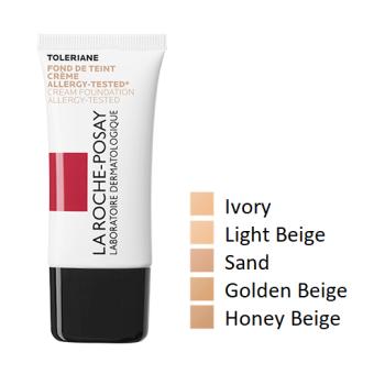 la roche posay toleriane teint fondotinta acqua crema idratante colore 04 golden beige