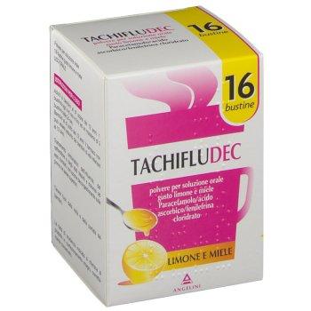 tachifludec 16 bustine gusto limone e miele