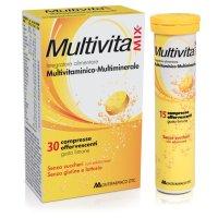 MULTIVITAMIX SENZA ZUCCHERO 30 Compresse Effervescenti
