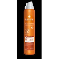Rilastil Sun System SPF50+ - Spay trasparente pelle asciutta - Protezione Molto Alta - 200 ml